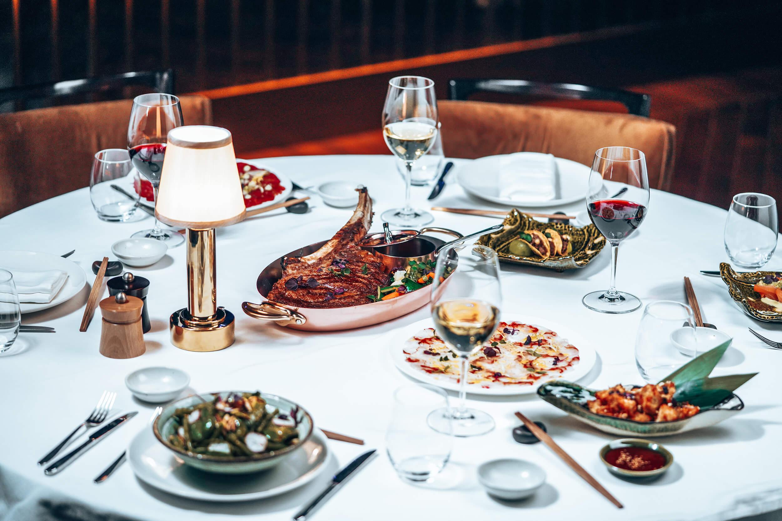 Dining at Billionaire Dubai