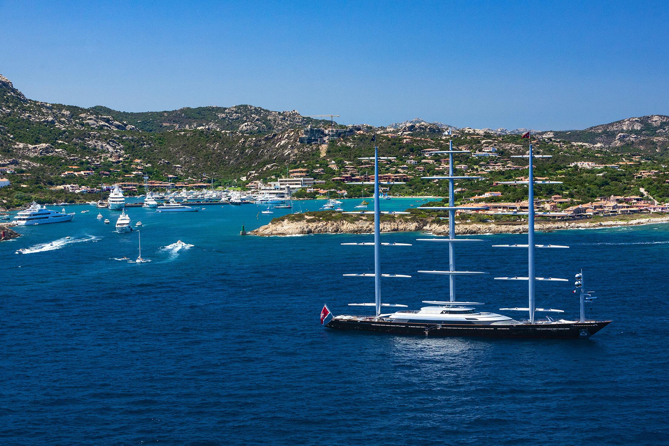Porto Cervo yacht