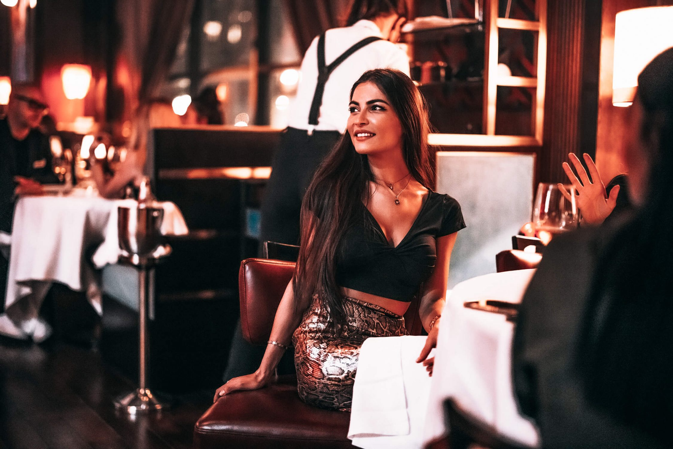 Girl at Billionaire Dubai