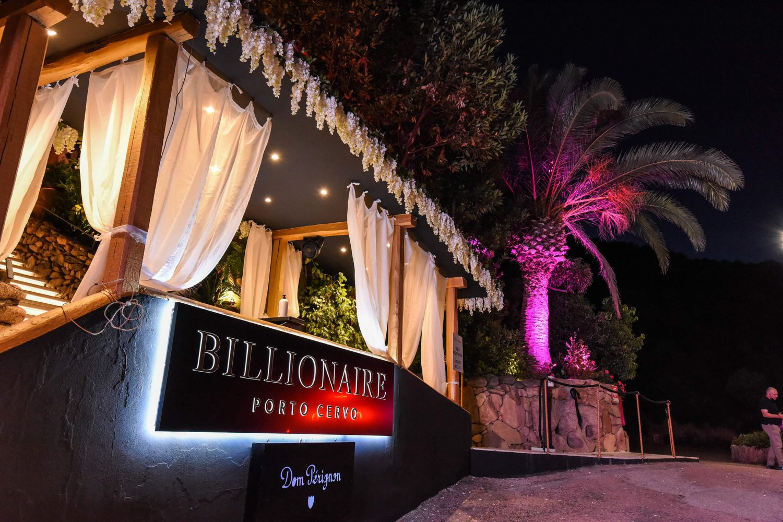 Billionaire Porto Cervo Entrance